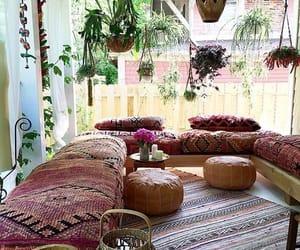bohemian, decor, and design image