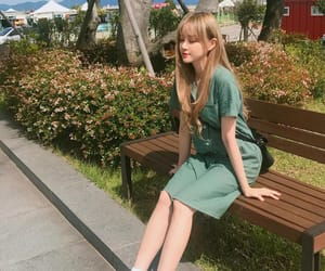 blonde, nine muses, and nature image