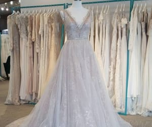 dress, gowns, and weddings image