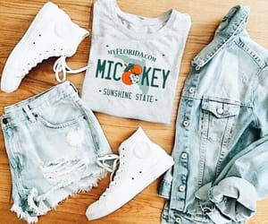 converse, denim, and license plate image