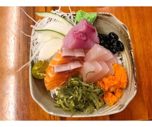 fish, lunch, and foodie image