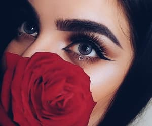 beauty, eyes, and girl image