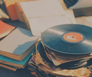 vintage, music, and book image