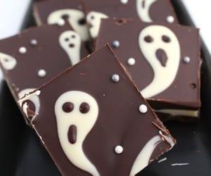 chocolate, Halloween, and food image