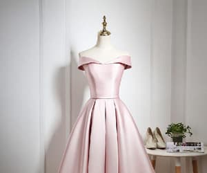 prom dress short, a-line homecoming dresses, and vintage prom dress image