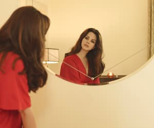 lana del rey, red, and singer image