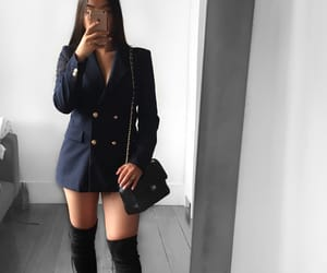 blazer, outfit, and style image