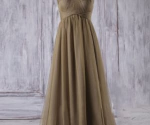 strapless wedding dresses, long bridesmaid dresses, and tulle bridesmaid dresses image
