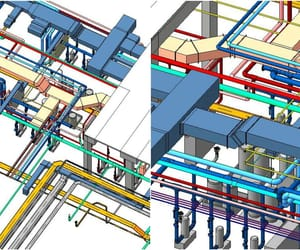 mep engineering services, mep outsourcing services, and mep to bim services image