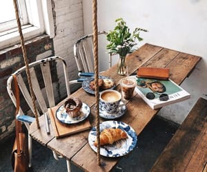 home, morning, and breakfast image