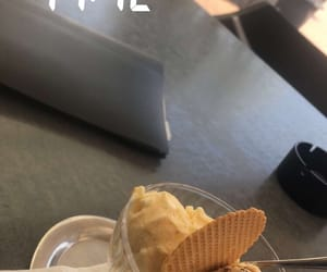 food, ice cream, and snap image