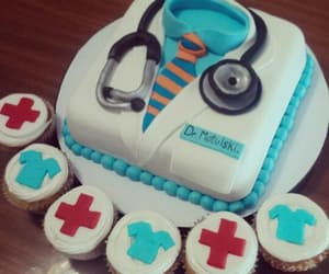 cakes, red, and hôpital image