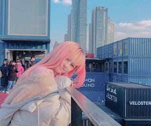 pink, ulzzang, and cute image