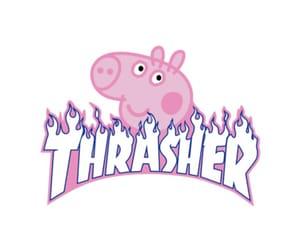 pig, pink, and cartoon image