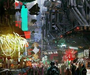 cyberpunk and art image