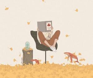 art, autumn, and illustration image