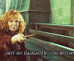 harry potter, bitch, and molly weasley image