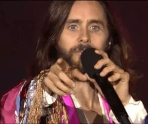 30 seconds to mars, gif, and hey you image