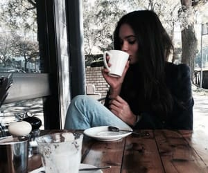 chill, coffee, and fashion image