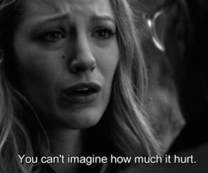 sad, gossip girl, and blake lively image