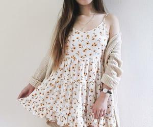 dress, sweaters, and fashion autumn image