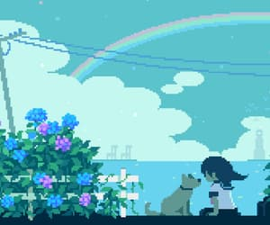 8 bit, anime, and pixel image