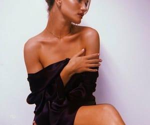 black, makeup, and pose image