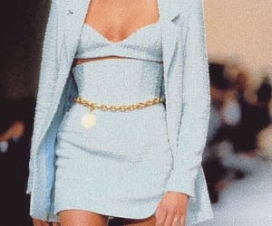 fashion, blue, and 90s image
