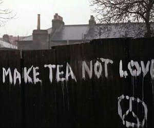 tea, love, and peace image