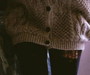 sweater, tights, and winter image