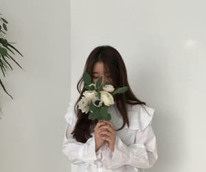 flowers, white, and aesthetic image