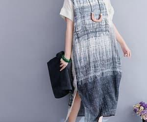 etsy, loose dress, and short sleeve dress image