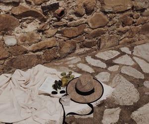 adventure, beige, and blanket image
