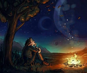 night and solitude image