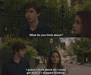 movie, freddie highmore, and quotes image