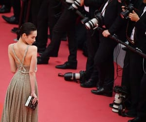 dior, cannes film festival, and red carpet dress image