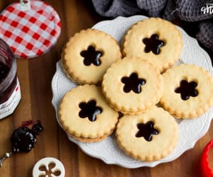 biscuit, jam, and Cookies image