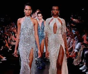 fashion, Georges Hobeika, and maria borges image