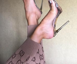 fashion, gucci, and heels image