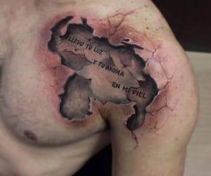 venezuela, tatto, and tattoo image