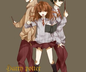 ronweasley, hermionegranger, and ronaldweasley image