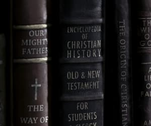 bible, books, and encyclopedia image
