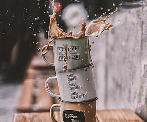 coffee, autumn, and photography image