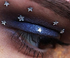 colours, make up, and moon image