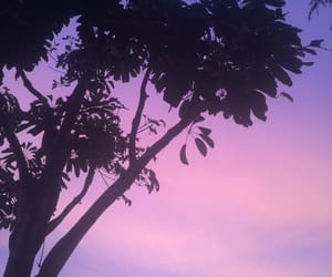 purple, sky, and tumblr image