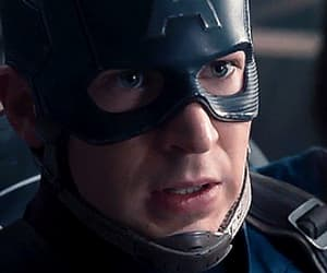 captain america, gif, and chris evans image