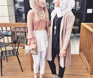 hijab, fashion, and cute image