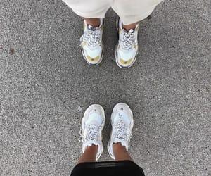 Balenciaga, fashion, and feet image