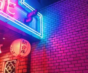 neon, aesthetic, and neon lights image