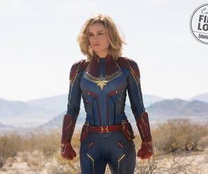 Marvel, brie larson, and captain marvel image